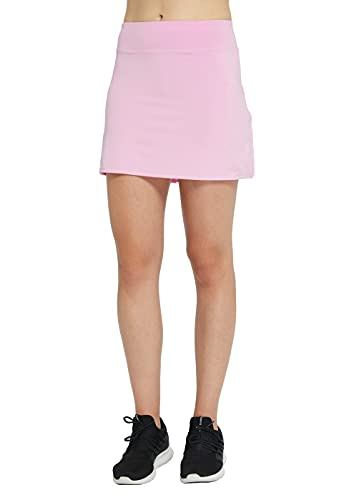 Cityoung Womens Athletic Pleated Golf Skirt with Shorts Pockets Running Tennis Workout Skorts 0 0