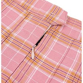 DAZCOS US Size 0 22 Plaid Skirt High Waist Japan School Skirts with Shorts for Women 0 3