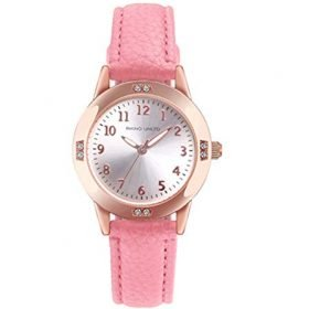 Girls Watches Ladies Watch for Gift Students Watches for Girls age11 15 Simple Japanese Movement Casual Leather Band Watches for Kid Ladies Fashion Women Watches 0