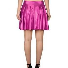 HDE Womens Casual Fashion Flared Pleated A Line Circle Skater Skirt 0 2