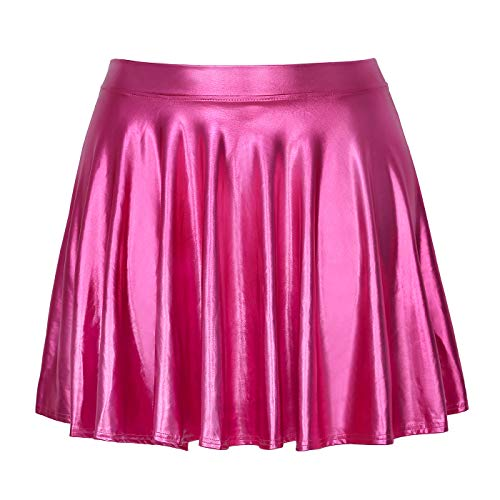 HDE Womens Casual Fashion Flared Pleated A Line Circle Skater Skirt 0 4