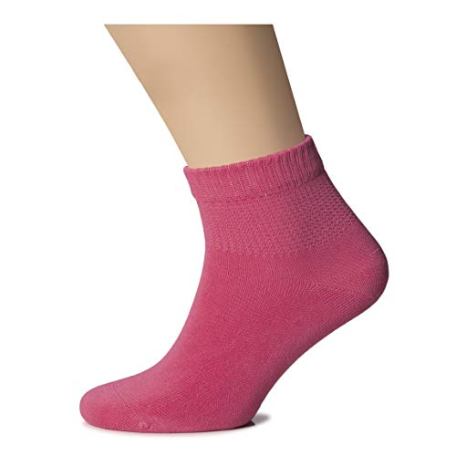 Hugh Ugoli Womens Bamboo Ankle Loose Fit Socks Soft Seamless Toe Wide Stretchy Non Binding Top 3 Pairs 0 1