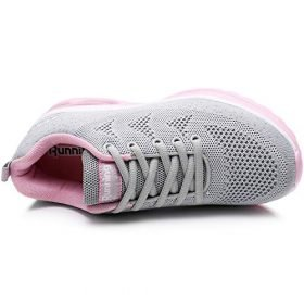 MAFEKE Women Air Athletic Running Shoes Fashion Tennis Breathable Lightweight Walking Sneakers 0 2