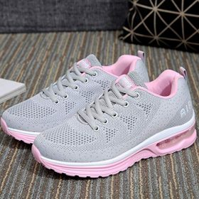MAFEKE Women Air Athletic Running Shoes Fashion Tennis Breathable Lightweight Walking Sneakers 0 3