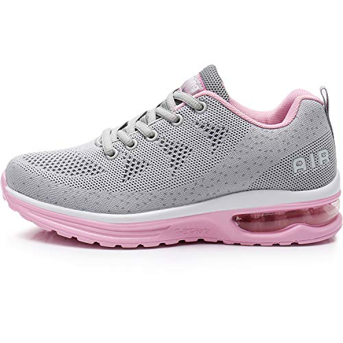 MAFEKE Women Air Athletic Running Shoes Fashion Tennis Breathable Lightweight Walking Sneakers 0