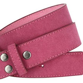Square Buckle Casual Jean Suede Leather Belt 1 12 Wide 0 1
