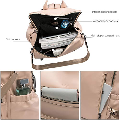 CLUCI Backpack Purse for Women Fashion Leather Designer Travel Large Ladies Shoulder Bags with Tassel 0 2