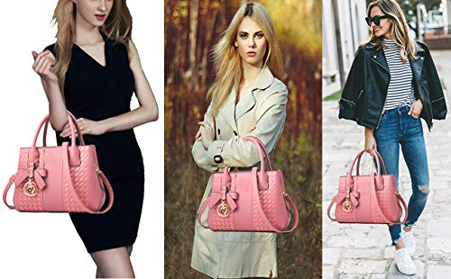 Purses and Handbags for Women Fashion Ladies PU Leather Top Handle Satchel Shoulder Tote Bags 0 0