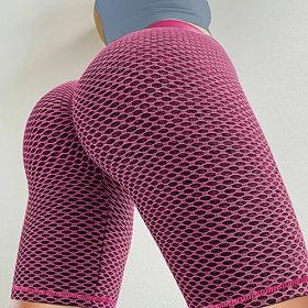 Youloveit High Waist Yoga Shorts for Women Ruched Butt Lifting Booty Spandex Workout Running Gym Bike Shorts 0 1